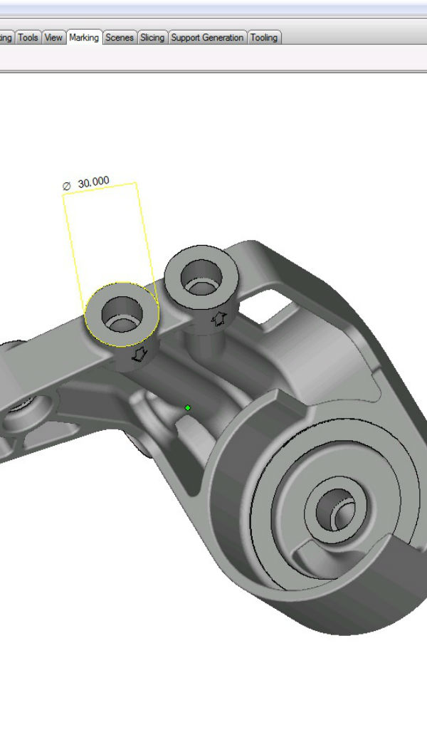CAD file of an automotive component