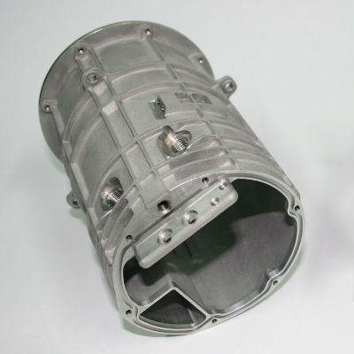metal additive manufactured defense part with post cnc machining for Thales