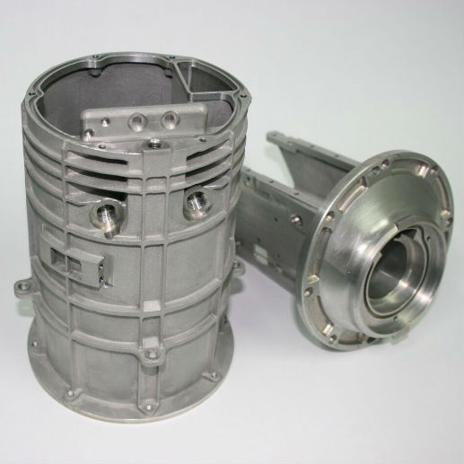 additive manufacturing defense component for Thales which has required post 5 axis cnc machining to achieve a tight tolerance